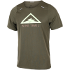 Nike-Rise 365 Trail T-shirt-Medium Olive/Barely -2184192