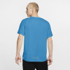 Nike-Rise 365 Trail T-shirt-Laser Blue/Barely Vo-2184193