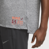 Nike-Rise 365 Future Fast T-shirt-Dk Grey Heather/Refl-2184343