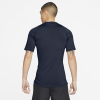 Nike-Pro Compression Top-Obsidian/White-2184544