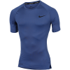 Nike-Pro Compression Top-Mystic Navy/Black-2184545