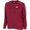 Nike-Essential Sweatshirt-Dark Beetroot/White-2191693