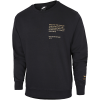 Nike-Swoosh Crew Sweatshirt-Black/Metallic Gold-2191735