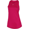 Nike-Pro Mesh Tank Top-Fireberry/White-2200591