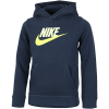 Nike-Club Fleece Hættetrøje-Deep Ocean/Barely Vo-2203895