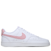 Nike-Court Vision Low-White/Pink Glaze-2210846