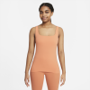 Nike-Yoga Luxe Tank Top-Healing Orange/Apric-2212600