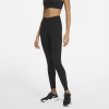 Nike-One Luxe Ribbed Tights-Black/Clear-2212611