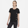 Nike-Miler Run Division T-shirt-Black/Reflective Sil-2213380