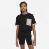 Nike-Heritage T-Shirt-Black/Moon Fossil/Wh-2238967