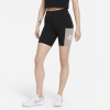 Nike-Heritage Cykelshorts-Black/Moon Fossil/Wh-2238968