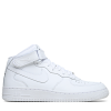 Nike-Air Force 1 Mid-White/White-721690