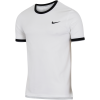 NikeCourt-Dry T-shirt-White/Black/Cool Gre-1504483