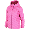 Peak Performance-Frost Down Hooded Jakke-Vibrant Pink-2024909