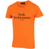 Peak Performance-Original T-shirt-Orange Altitude-2172023