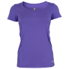 Purelime-Divided T-shirt - Dame-Neon Purple-1359608