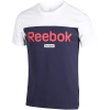 Reebok-Training Essentials Linear Logo T-shirt-White-2113408