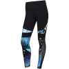 Reebok-Lux Colorblock Printed Tights 2.0-Black-2130623