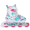 Roces-Yuma Rulleskøjter-White/Pink-2225222