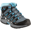 Salomon-XA PRO 3D MID - Børn-Grey Denim/Black/Met-1381619