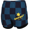 Saysky-Checker 2-IN-1 Shorts-Maritime Checkerbaor-2146929