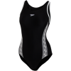 Speedo-Monogram Muscleback-Black/White-1130369