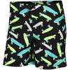 "Speedo-Neonwhirl Printed Leisure 15"" Badeshorts-Black / White / Aqua-2052751"