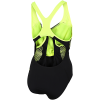 Speedo-Fit Laneback Badedragt-Black/Fluo Yellow-2174168
