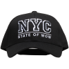 State Of Wow-NYC Youth Baseball Cap-Black-1601471