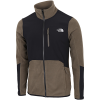The North Face-Glacier Pro Full-Zip Fleece-New Taupe Green/Tnf -2164558