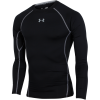 Under Armour-HeatGear Compression T-shirt L/Æ-Black-1424883