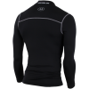 Under Armour-ColdGear Mock Baselayer T-shirt L/Æ-Black-1424890