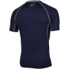 Under Armour-HeatGear Armour Baselayer T-shirt-Midnight Navy-1440865