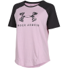 Under Armour-Fit Kit Baseball T-shirt-Pink Fog-2101429