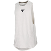 Under Armour-Project Rock Charged Tank Top-Summit White-2149880