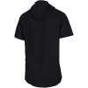 Under Armour-Project Rock Charged Hooded T-shirt-Black-2149884