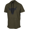 Under Armour-Project Rock Charged Hooded T-shirt-Guardian Green-2149885