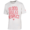 Under Armour-Project Rock Blood Sweat Respect T-shirt-Summit White-2149901