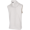 Under Armour-Project Rock Charged Cotton Sleeveless Hoodie-Summit White-2187881