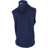 Under Armour-Project Rock Charged Cotton® Sleeveless Hoodie-Academy-2187883