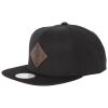 UpFront-Off Spring Snapback Cap-Black/Brown-1266882