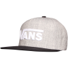 Vans-Drop V II Snapback-Heather Grey/Black-2073618